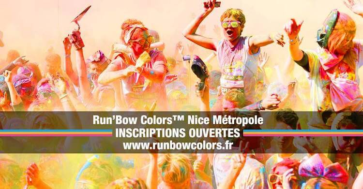 Run'Bow Colors™ on the French Riviera