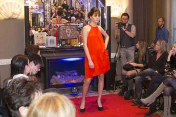 Fashion show at Hotel Ellington