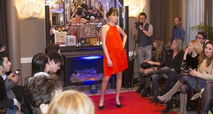 Fashion show at Hotel Ellington