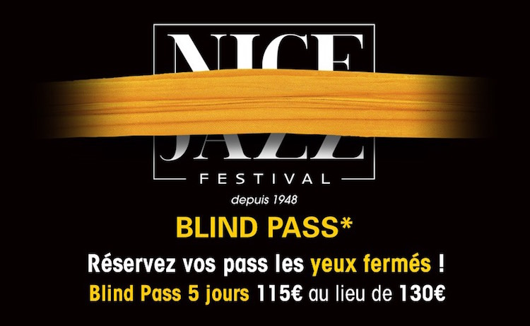 Nice Jazz Festival Blind Pass