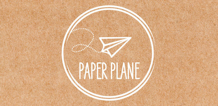 Paper Plane in Nice