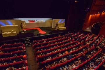 TEDx Cannes auditorium