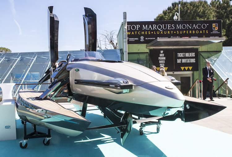 Boat at Top Marques Monaco