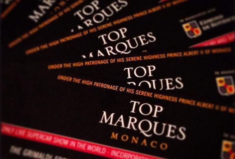 Top Marques Monaco tickets