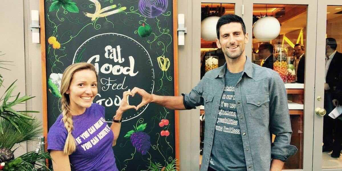Nole Shares His Dietary Secrets With New Vegan Restaurant In Monaco Riviera Buzz
