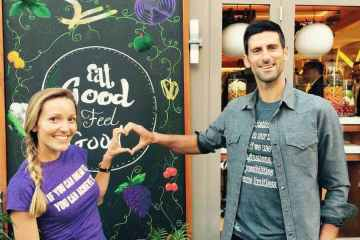 Novak & Jelena Djokovic @ Eqvita