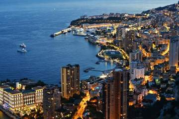 Monaco by night © monticellllo