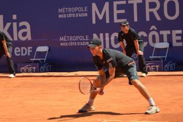 Dominic Thiem at Open Nice Côte d'Azur 2015