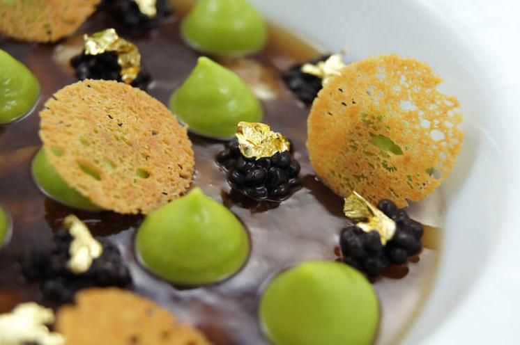 Dessert from l'Aromate in Nice
