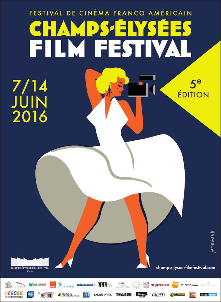 Champs-Élysées film Festival 2016 poster