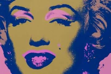 Marilyn by Andy Warhol, courtesy Galerie Adriano Ribolzi
