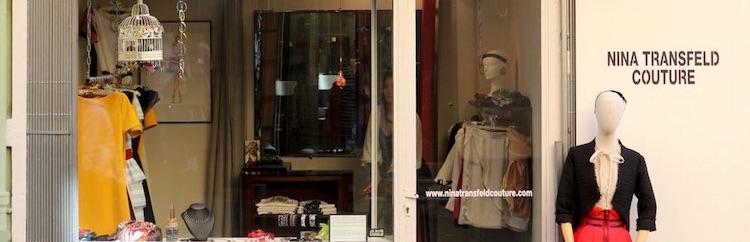 Nina Transfeld boutique in Nice