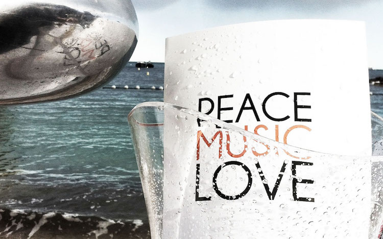 Peace Love Music at Sunset Monaco