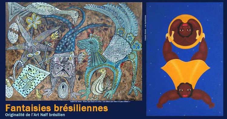 Fantaisies Brésiliennes expo in Nice banner