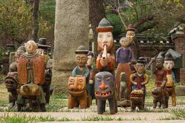 Korean Kokdu figurines