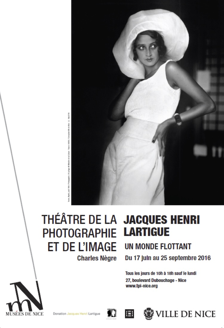 Jacques Henri Lartigue exhibition in Nice