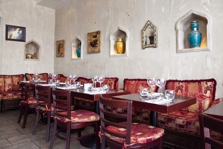 Ya Habibi Lebanese restaurant in Nice © Mike Colquhoun