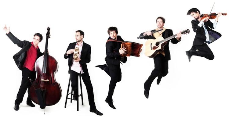 Accordzéàm play at Châteauneuf this July