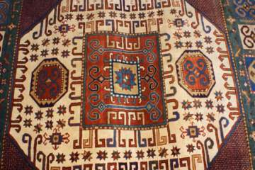 Azerbaijani traditional carpet