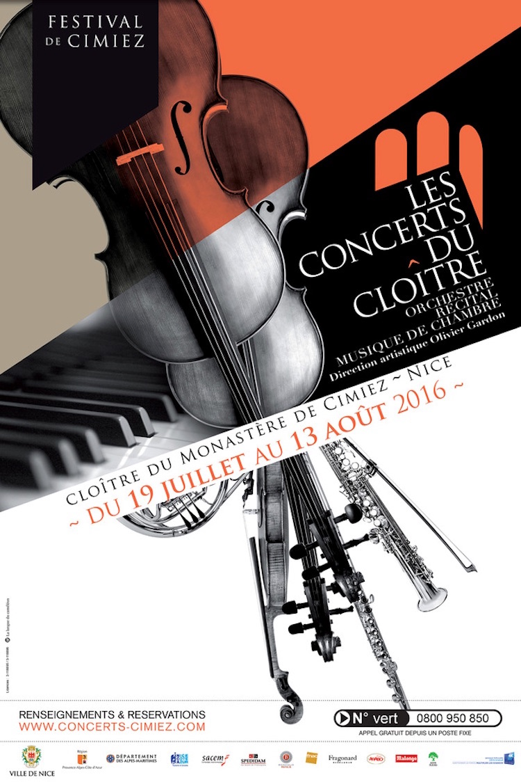 Concerts in Cimiez 2016 poster