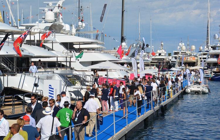 Monaco Yacht Show crowds 2015
