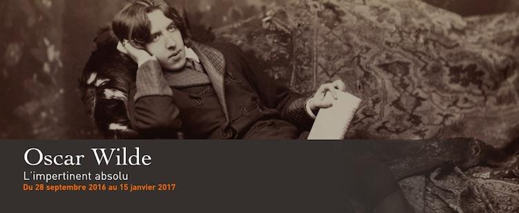 Oscar Wilde expo Paris
