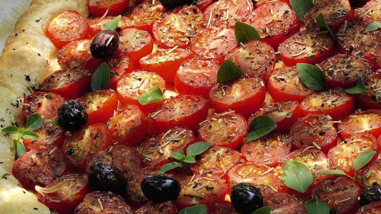 Tarte aux tomates de la Merenda à Nice