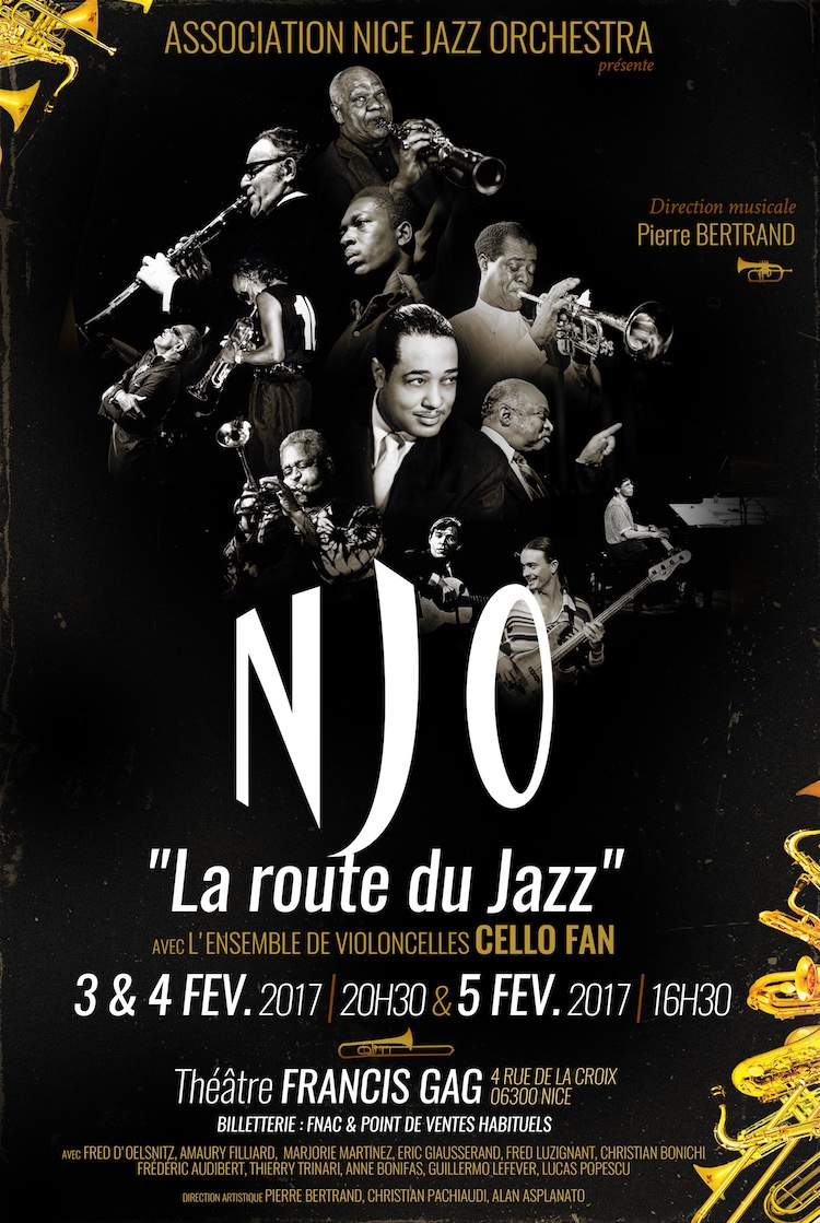 Nice Jazz Orchestra poster