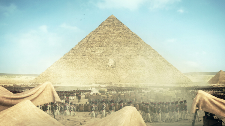 Napoléon Egypt Pyramids