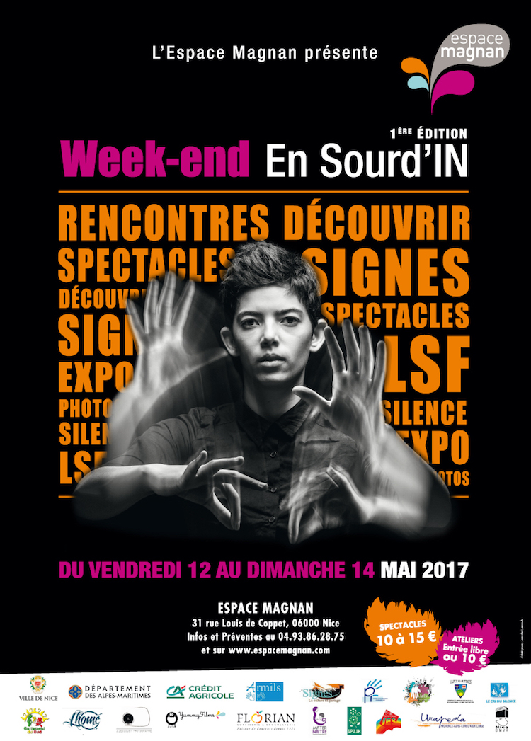 Weekend Sourd'IN poster