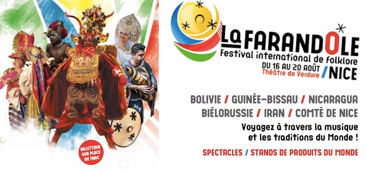 Farandole Festival in Nice