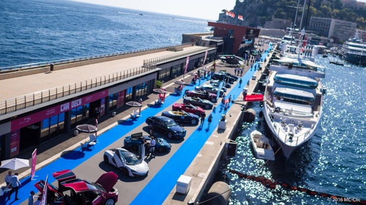 Monaco Yacht Show Car Deck