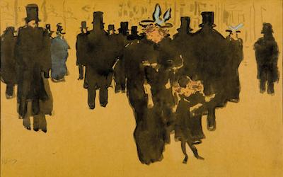 Pierre Bonnard Les Grands Boulevards