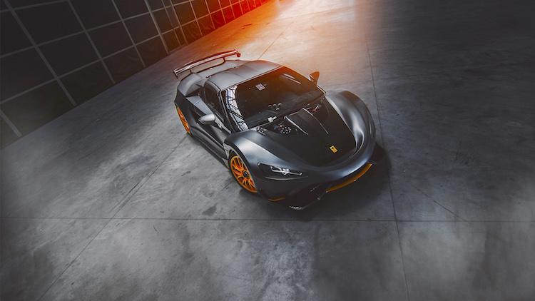 Tushek supercar @ Top Marques Monaco 2018