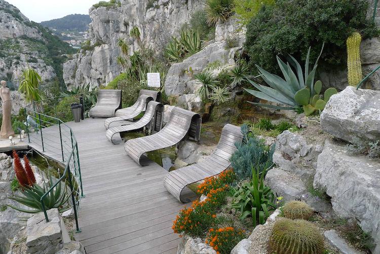 Jean Mus garden in Éze