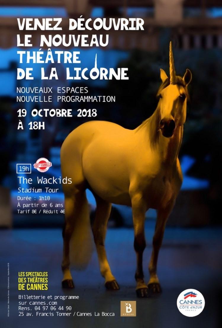 Licorne theatre Cannes