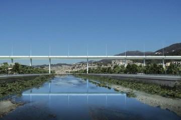 Renzo Piano bridge in Genoa