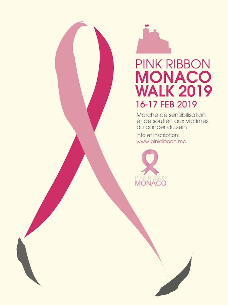 Pink Ribbon Monaco Walk 2019