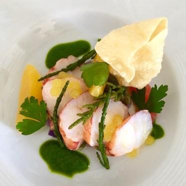Club Vivanova Gala food