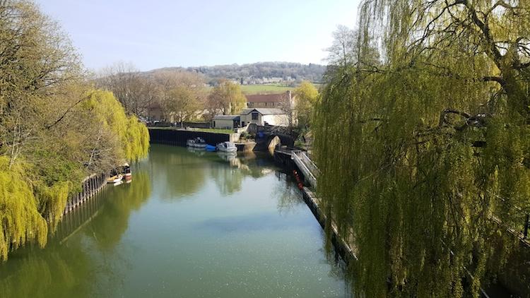 Rivier in Bath