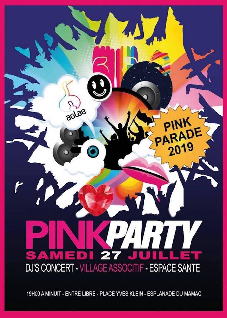 Pink Parade Nice 2019