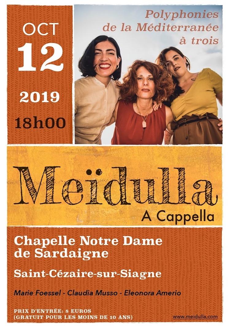 Meïdulla A Cappella poster