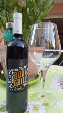 Bootgrill wine