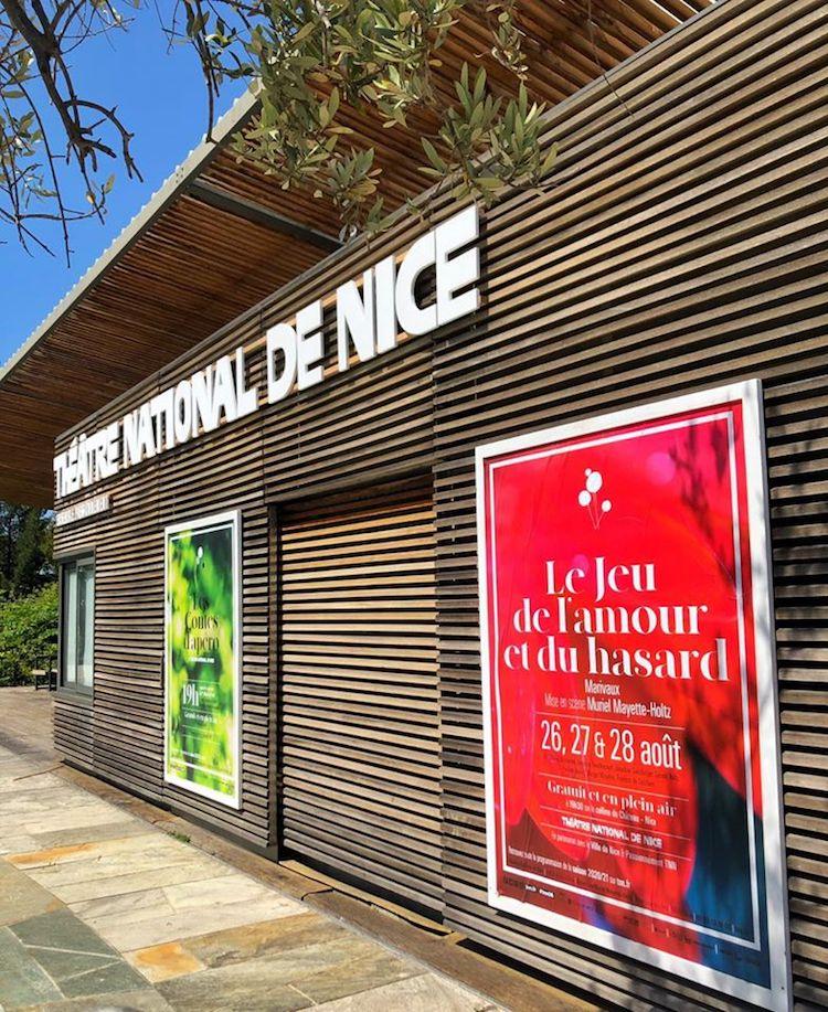 TNN kiosk Coulée Verte in Nice
