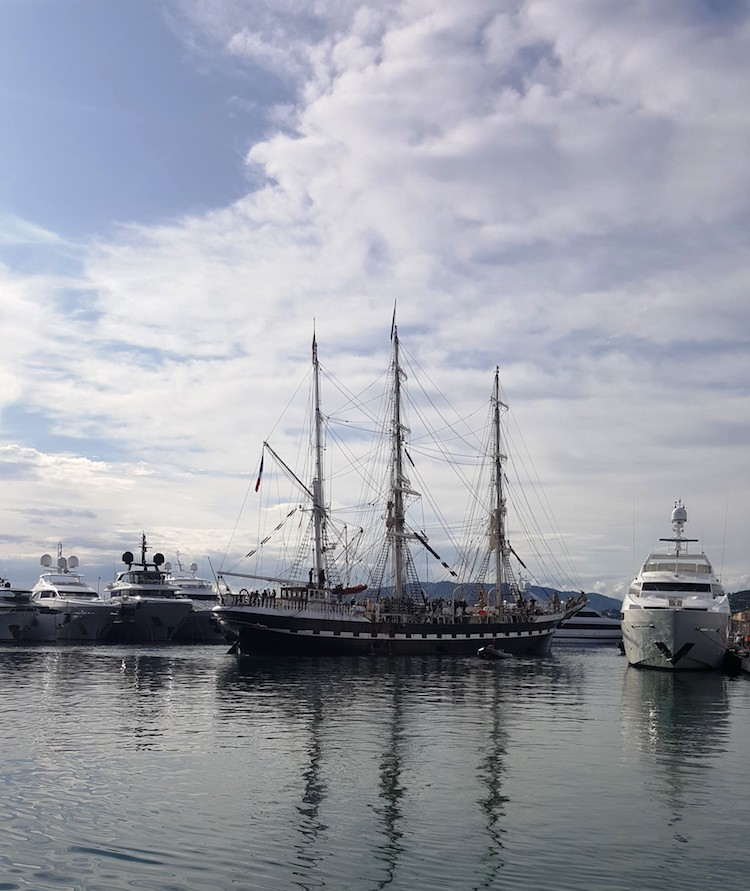 The Belem in Cannes