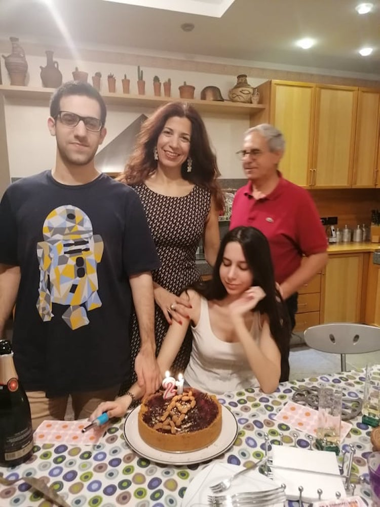 Nada Skaff and family