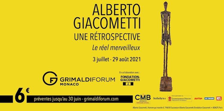 Giacometti in Monaco