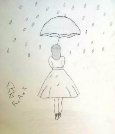 Rahmas umbrella girl
