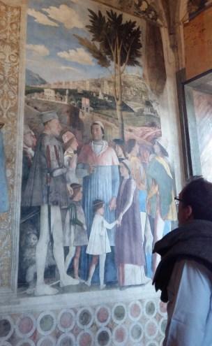 la camera degli sposi, capolavoro di Andrea Mantegna