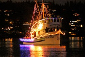 Holiday Lights Chartered Boat Cruises in Seattle, Tacoma, & Gig Harbor